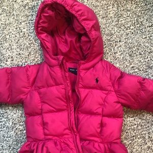 Ralph Lauren 24 month girls puffer jacket